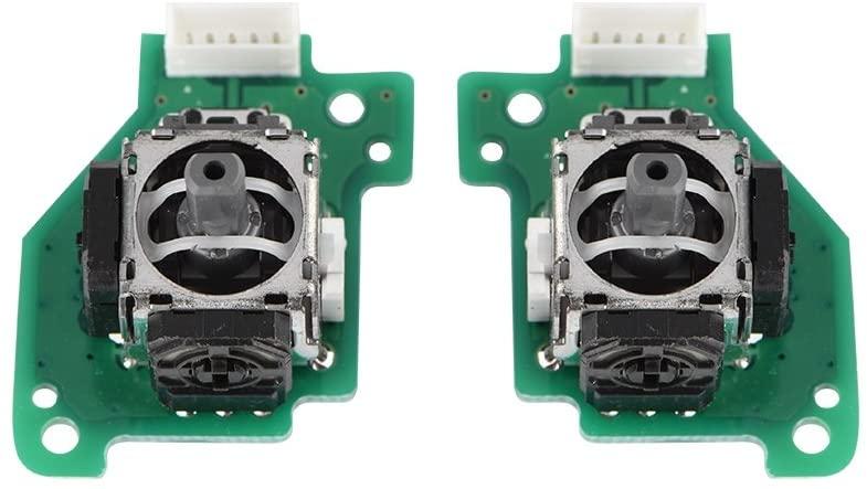 Zerone 2pcs 3D Joystick for Wii U, 3D Analog Joystick Wireless Controller Rocker for Nintendo Wii U Gamepad Controller