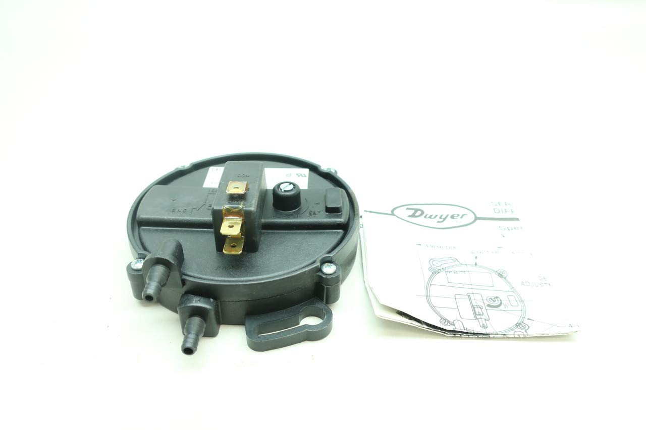 DWYER 1710-5 Pressure Switch 2PSI 277V-AC