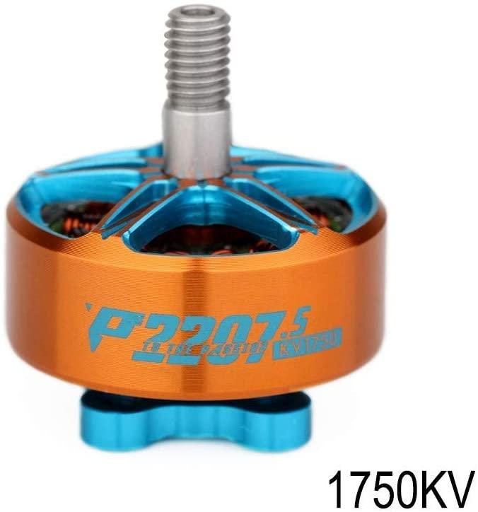 T-Motor Pacer P2207.5 1750KV 5-6S Brushless Motor - Orange&Blue
