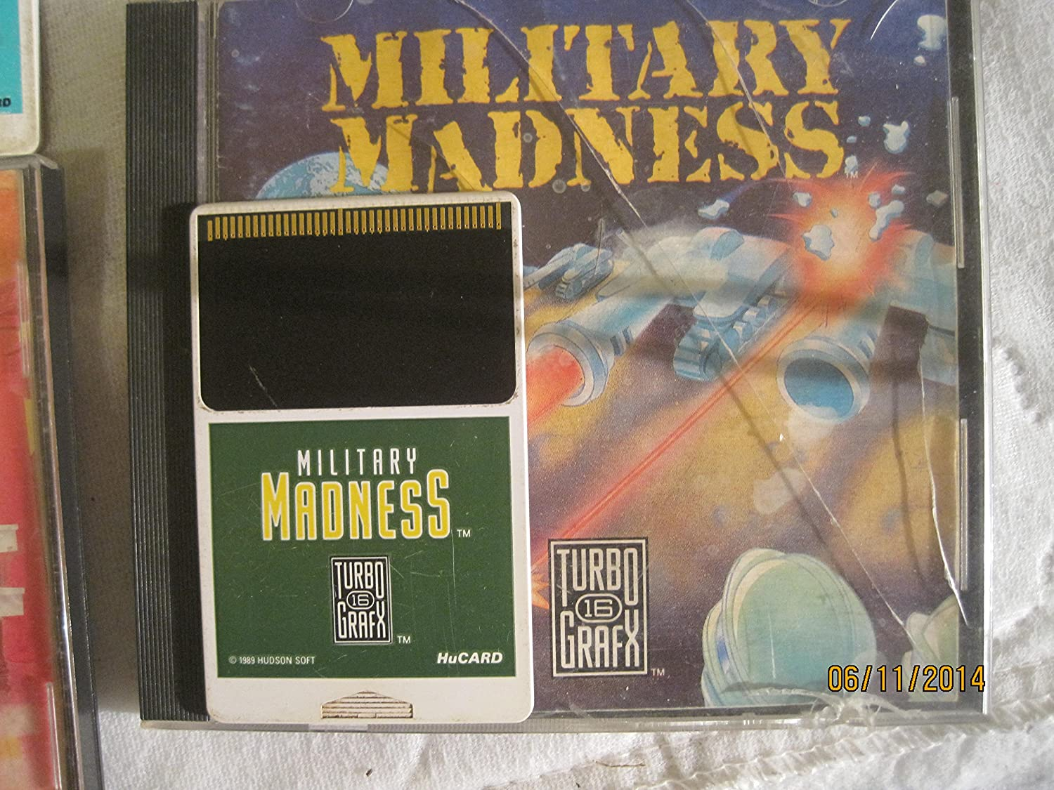 Military Madness TurboGrafx 16 Video Game