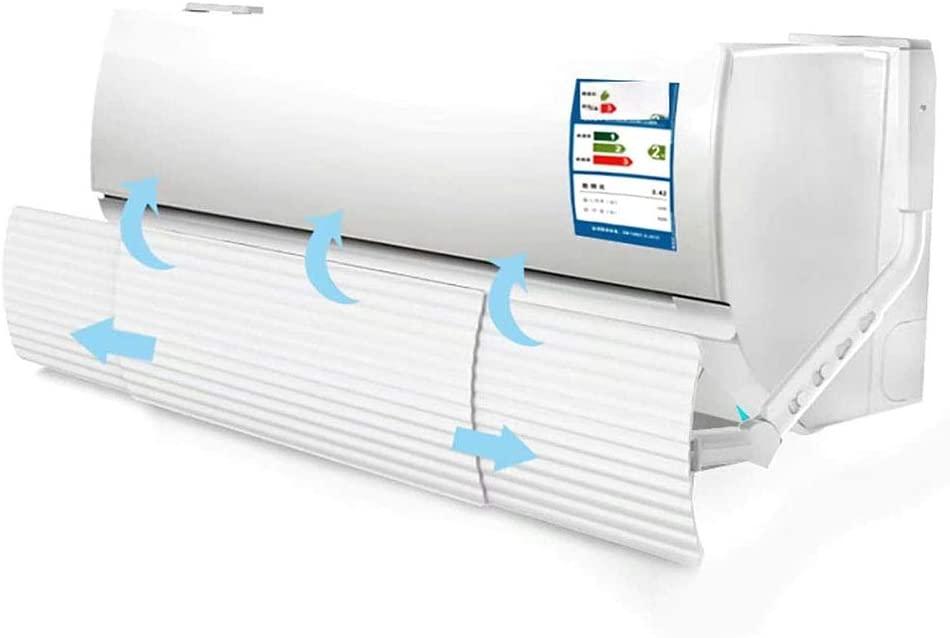 All in 1 Retractable Air Conditioner Wind Shield, Wind Direction Retractable Universal Air Conditioner Deflector, No Need Hole Drills
