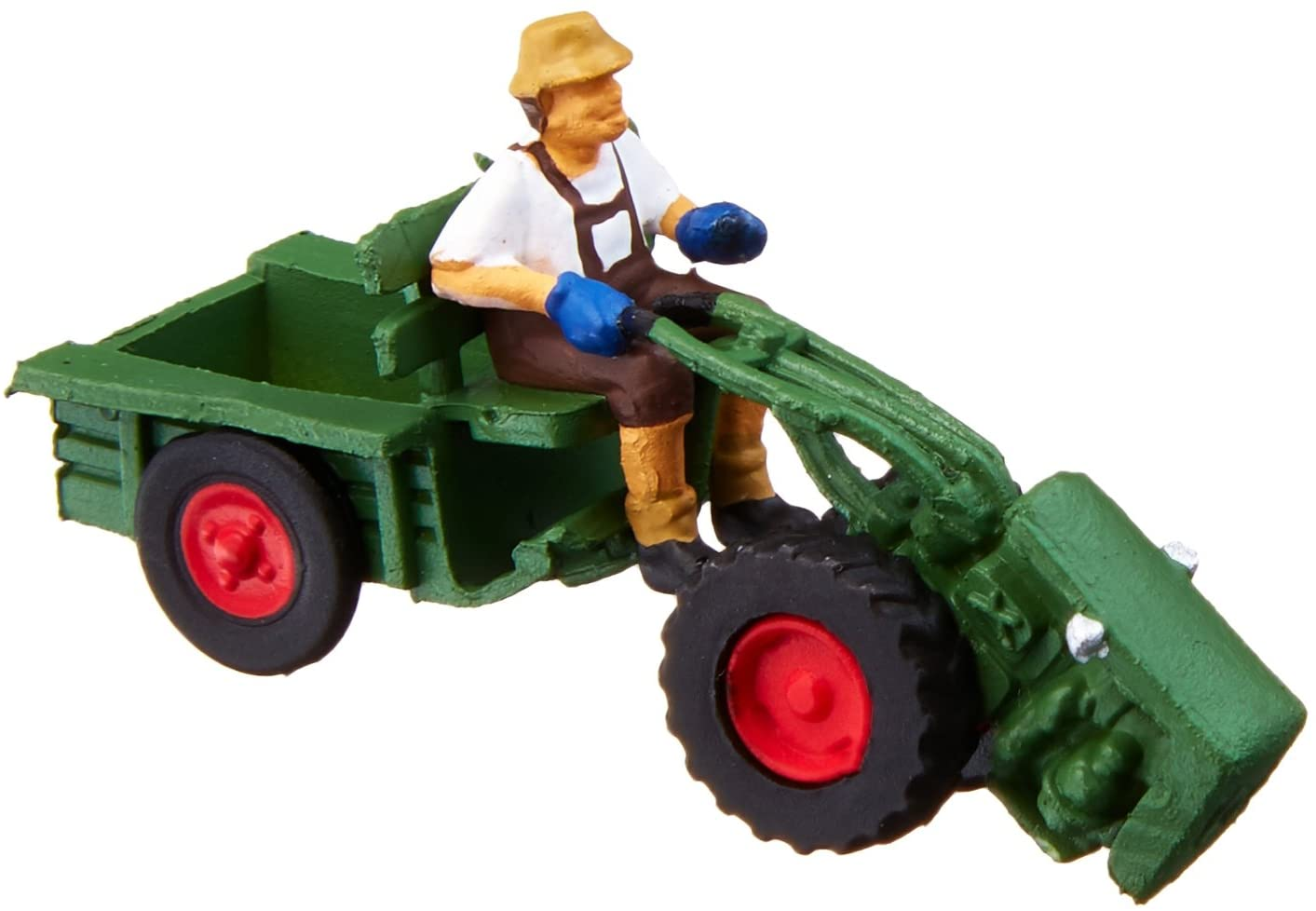 Noch 16750 Two Wheel Tractor W/Fig H0 Scale Figures