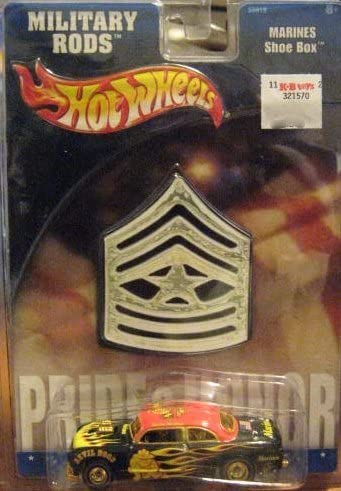 Hot Wheels Military Rods Marines Shoe Box 1:64