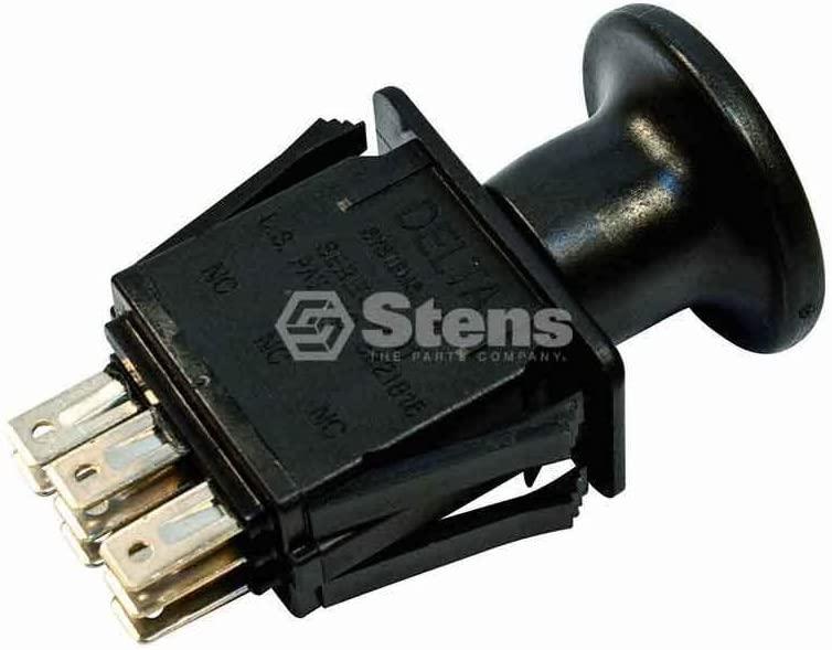 Welironly Stens PTO Switch for AYP 196112 GT2254 GTH2654 YTH2448 Husqvarna GT2254 GTH2654 (Item_by#Ozark_Sales; TRYK21111899757646