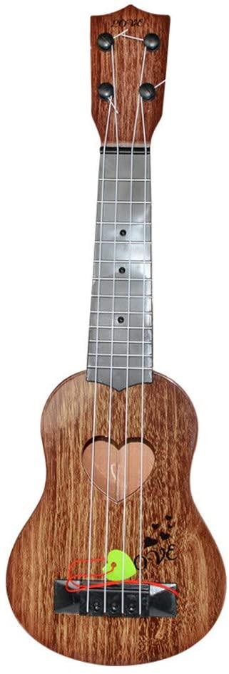 YUSDP 15.3 Inch Classical Ukulele Guitar for Kids Toy, Light Easy to Carry, Child Education Musical Instrument, for Birthday, Christmas - 3 Colors
