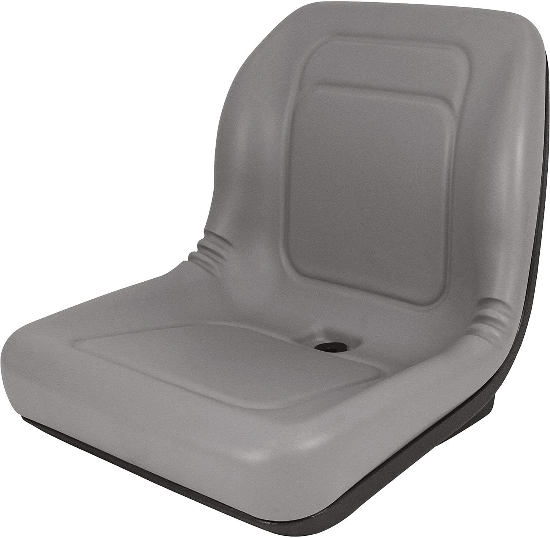 A&I Universal Vinyl Bucket Seat - Gray, Model Number LGT100GR