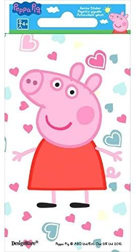 Peppa Pig Jumbo Sticker   Party Favor