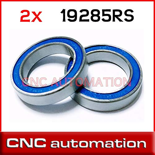 Ochoos 2pcs 7149788 MR1928-2RSV F3 Wheel Bearing Kentucky Repair Bearing MAX 19x28x5mm MR1928 MR19285 19285 2RS - (Length: one Side Seal)