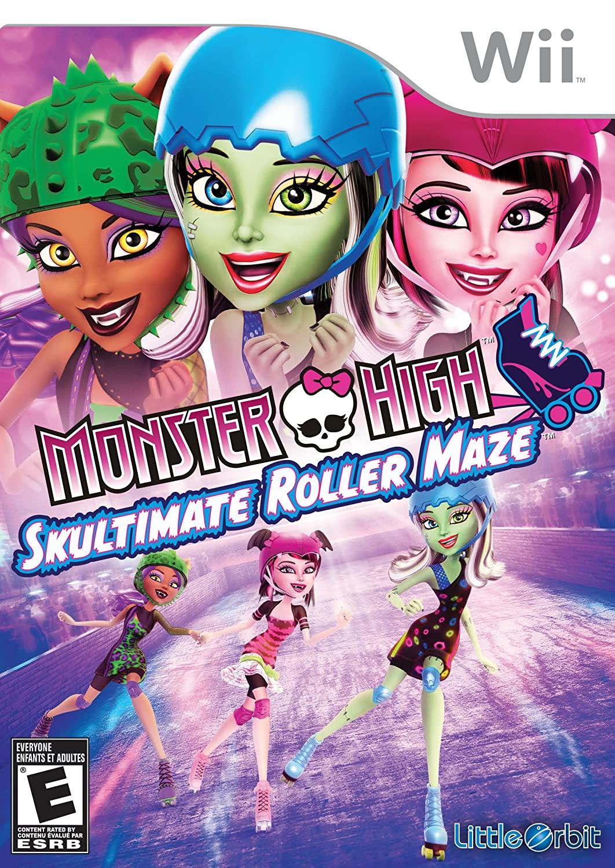 Monster High: Skultimate Roller Maze - Nintendo Wii
