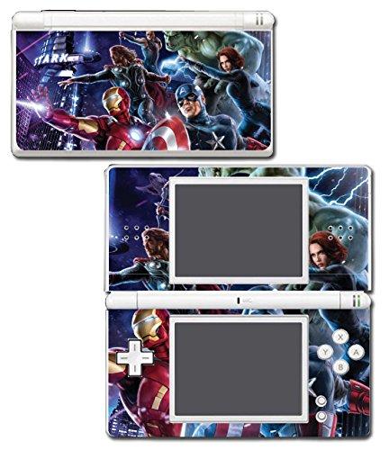 Avengers Captain America Thor Hulk Iron Man Video Game Vinyl Decal Skin Sticker Cover for Nintendo DS Lite System