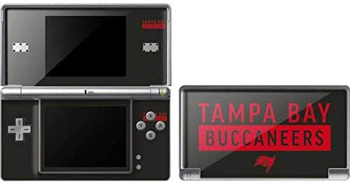 Skinit Tampa Bay Buccaneers Brown Performance Series Skin for DS Lite - Officially Licensed NFL Gaming Decal - Ultra Thin, Lightweight Vinyl Decal Protection