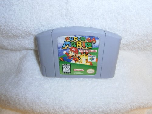 Super Mario 64 Not for Resale
