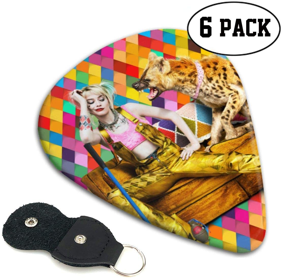 N/C Birds of Prey :And The Fantabulous Emancipation of One Harley Quinn Movie Plot Guitar Pick