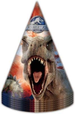 Jurassic World Paper Hats 6pcs Birthday Party Favors Party Supplies