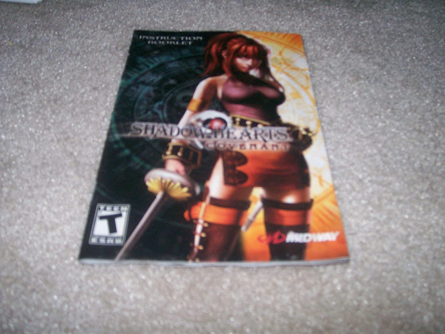 Shadow Hearts Covenant Instruction book for Playstation 2