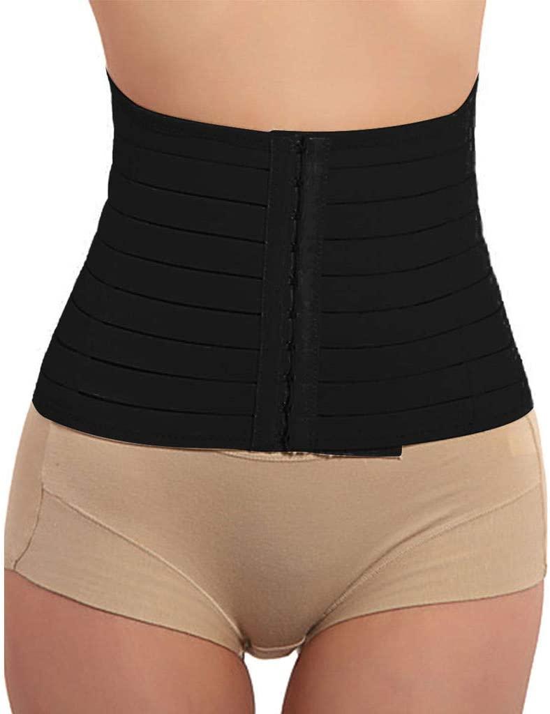 Honestyivan Women's Breathable Cincher Belt Belly Band Shapewear Tummy Control Waist Trainer Slimmer Body Shaper