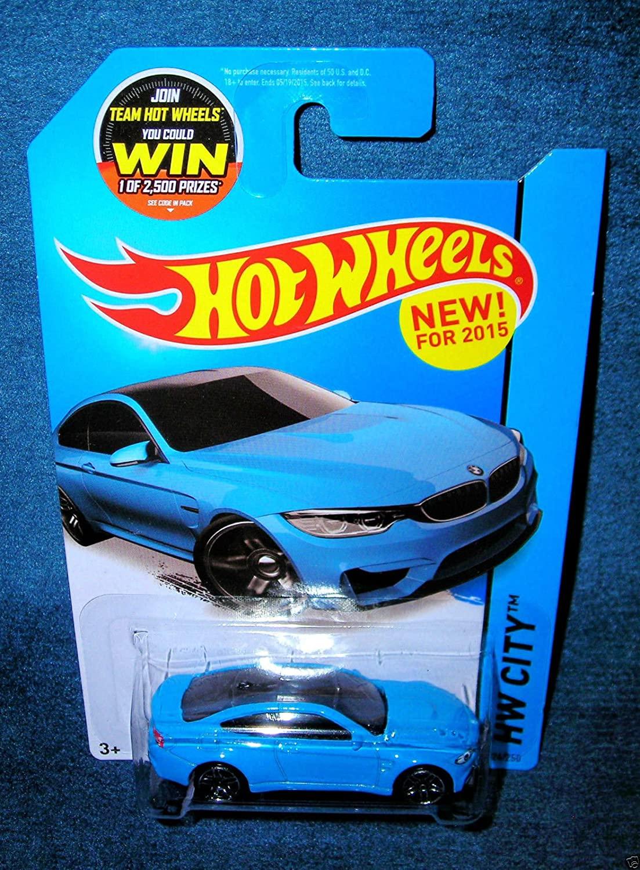 Hot Wheels 2015 HW City BMW M4 24/250, Blue