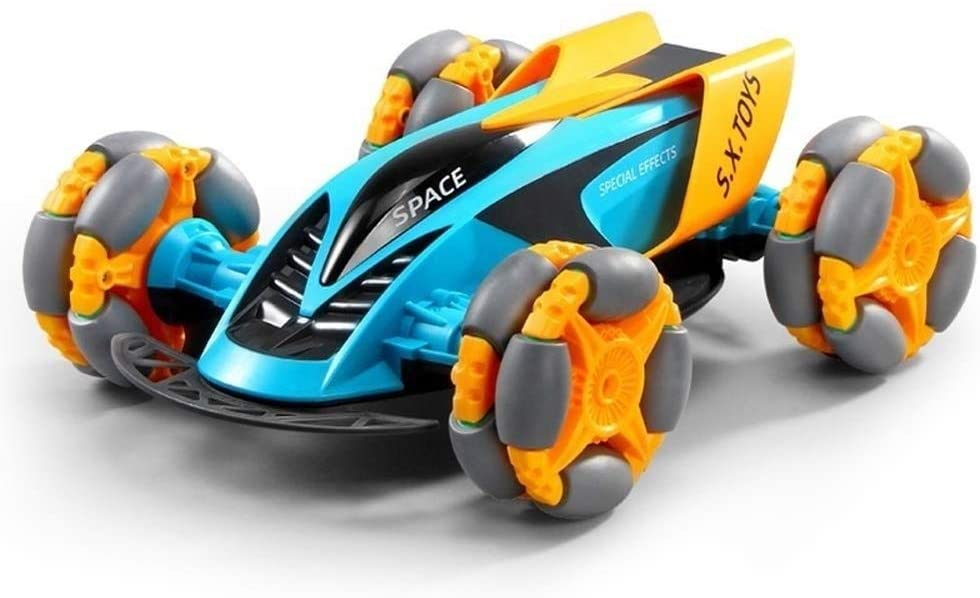 Xuess Toy Remote Control Car Kids Toy 4WD High Speed Racing Truck Children's 2.4Ghz Radio Controlled Race Buggy Resistant to Impact Toy Educational Toys
