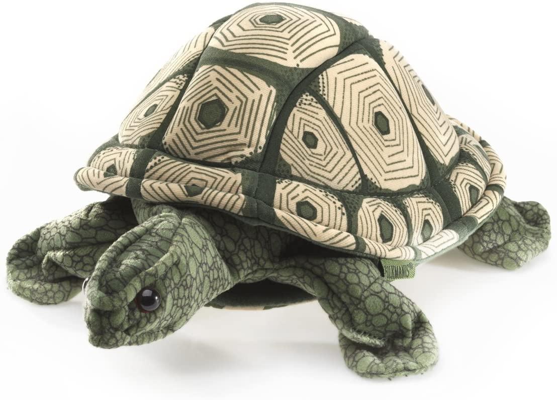 Folkmanis Tortoise Hand Puppet