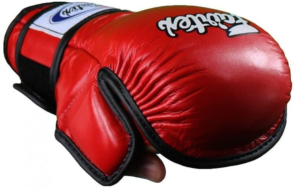 Fairtex MMA Sparring Gloves - FGV15 - RED