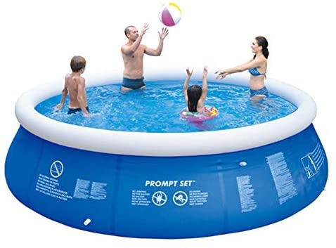 Inflatable Swimming Pool Paddling Pools Swim Centre Thick Above Ground Pool for Summer Adult Baby Have Fun (Inflatable West Bromwich)