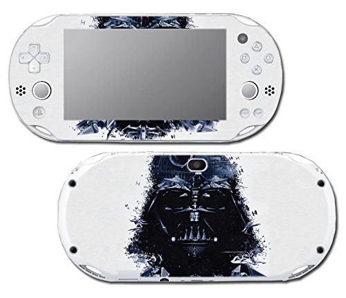 Star Wars Darth Vader Imperial Fleet Ship TIE Fighter Video Game Vinyl Decal Skin Sticker Cover for Sony Playstation Vita Slim 2000 Series System Console