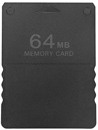 Robincure High Speed Memory Card Save Game Data Stick Module Card for PS2 Black