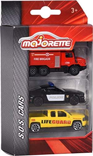 Set of Machines Majorette Rescue Service 7.5 cm