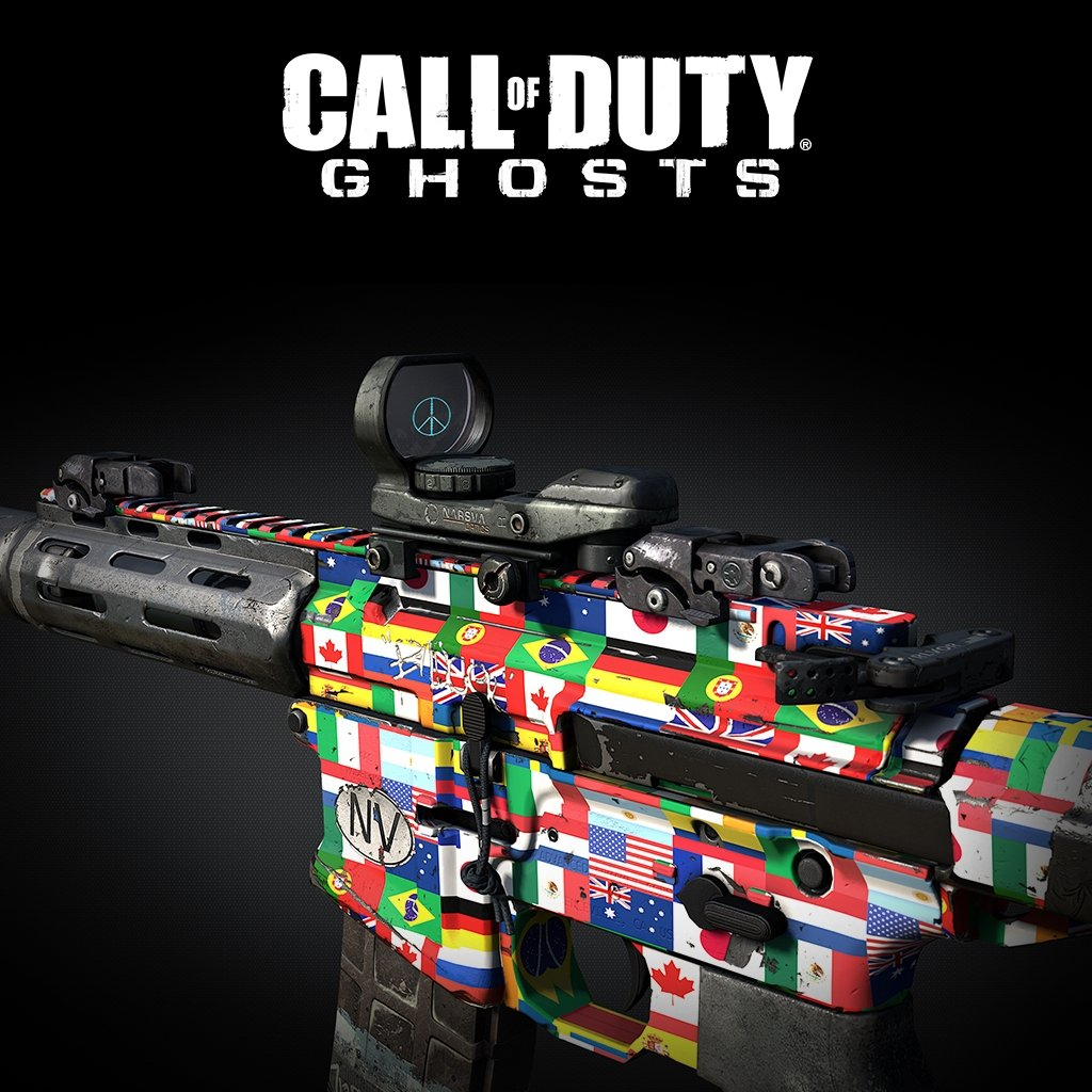 Call of Duty: Ghosts - Flags of the World Pack - PS3 [Digital Code]