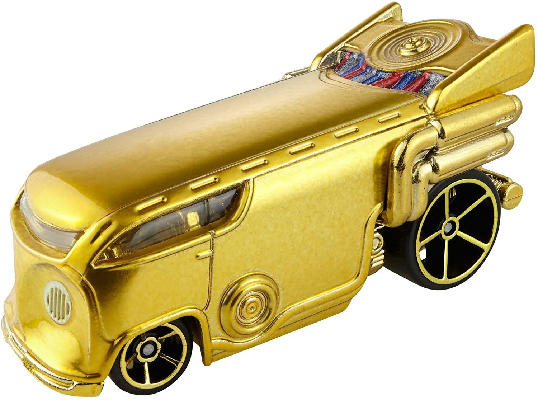 Hot Wheels Star Wars Character Car C3PO Vehicle