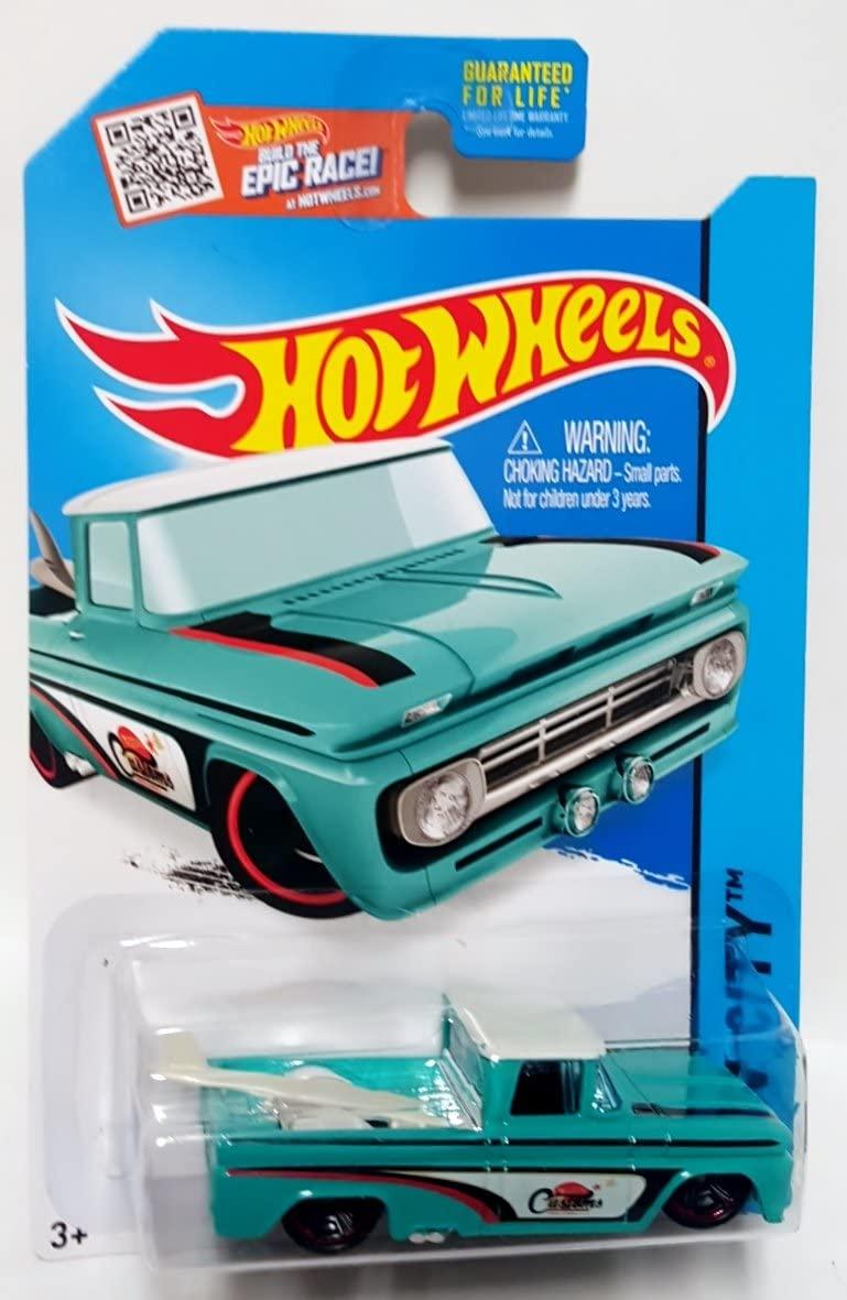 Hot Wheels 2015 HW City Custom '62 Chevy 72/250, Tuquoise