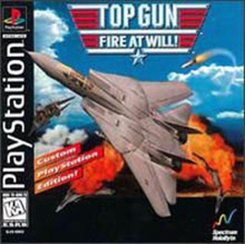 Top Gun Fire At Will - Playstation