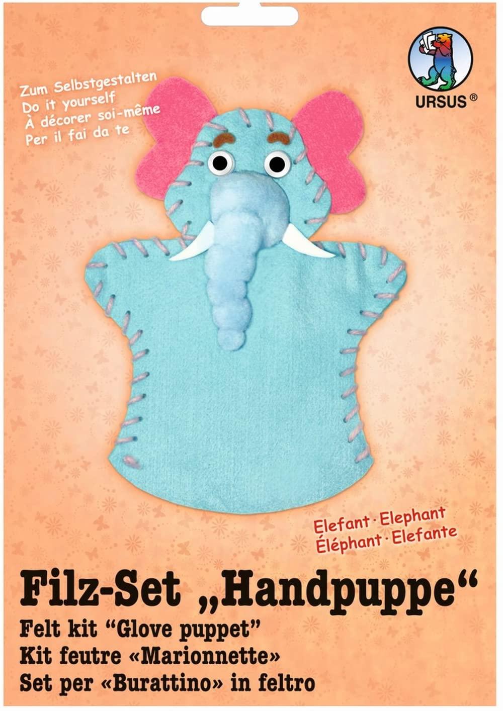 Ursus Glove Puppet Felt kit