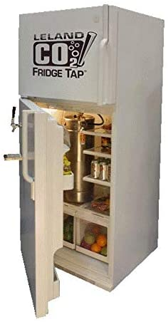 Leland Mr. Fizz CO2 Fridgetap Refrigerator Conversion Kit to Add a Keg