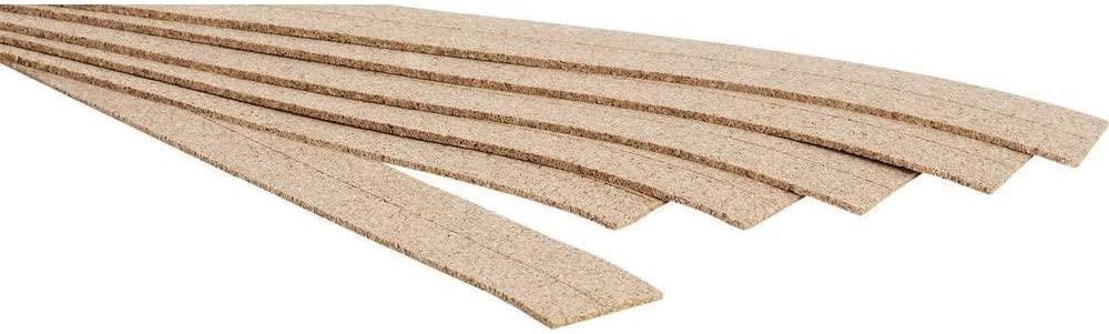 Noch 50460 Cork Track Bed Landscape Modelling (6-Piece)