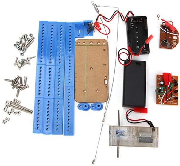 DIY Remote Control Quadruped Robot Assembling Model Toy Robot Smart Car Kit Module