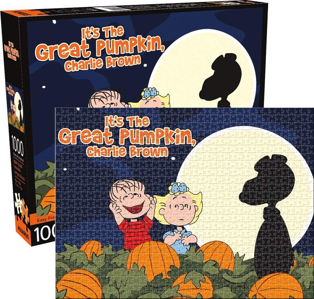 Aquarius Peanuts Great Pumpkin 1000 Pc Puzzle, Multicolor (65327)