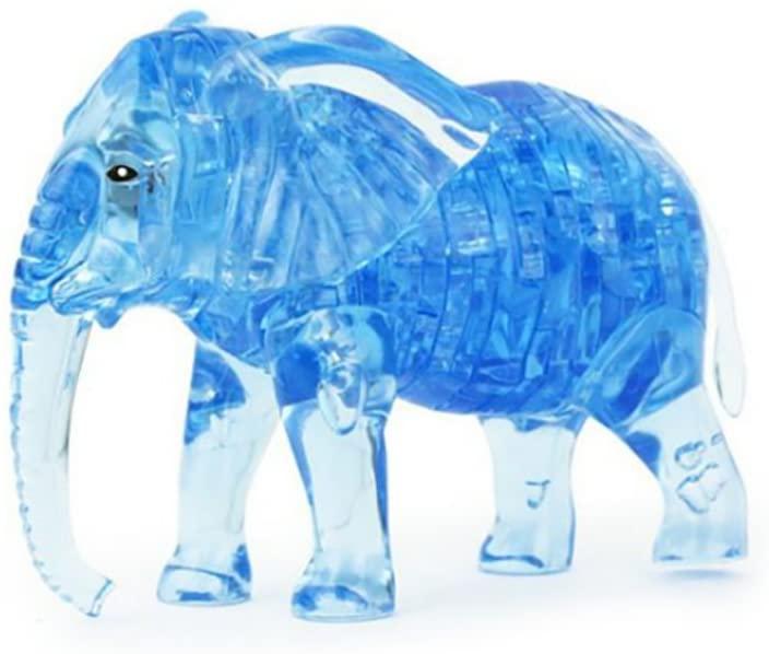 LRRH Novelty Creativity 3D Crystal Jigsaw Puzzle - Elephant (41Piece)