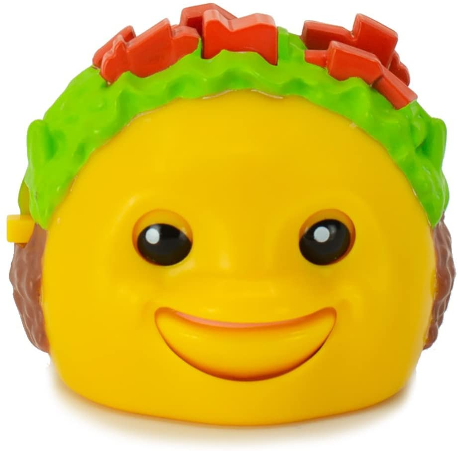 Mojimoto Taco Repeating Talk-Back Toy That Records & Repeats and Lip-syncs to Music! (Styles May Vary) by Cepia