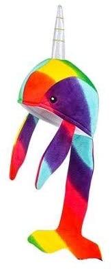 M&E - Funny Adorable Rainbow Pride NARWHAL Plush 15