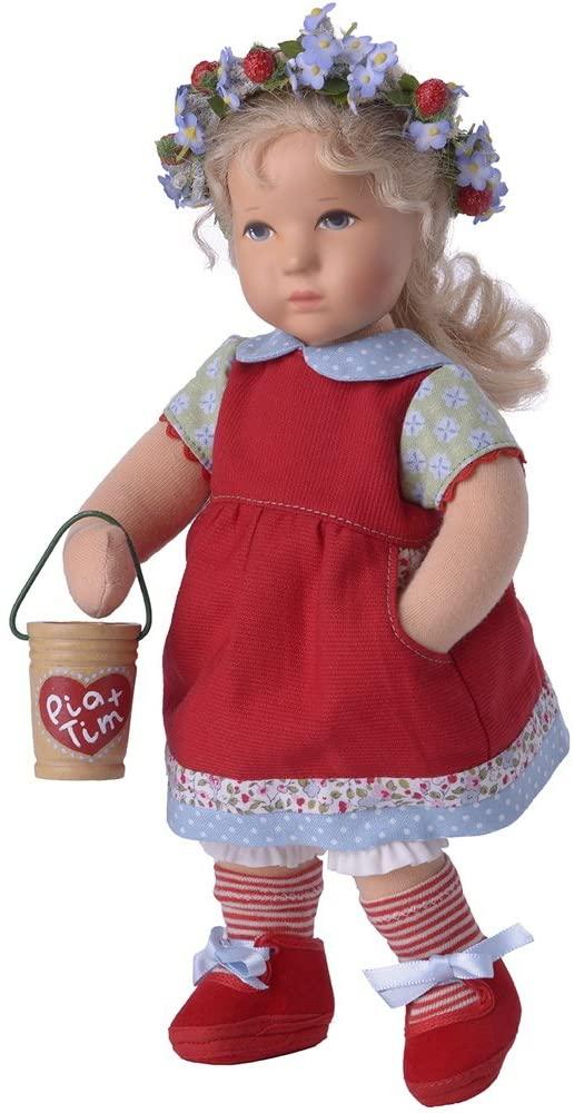 Käthe Kruse 125705 Däumelinchen Pia Doll, 25 cm