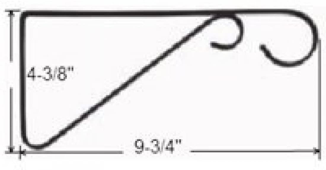 Mintcraft GB0363L Britan 0363L Hanging Planter Bracket