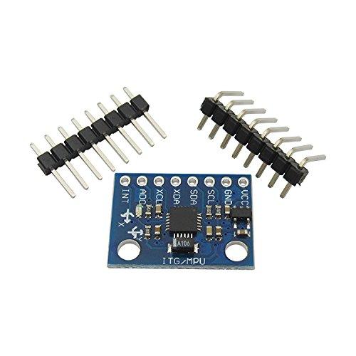 1 Piece GY-521 MPU6050 Module Three-Dimensional Angle Sensor 6DOF Three-axis Accelerometer Electronic Gyroscope