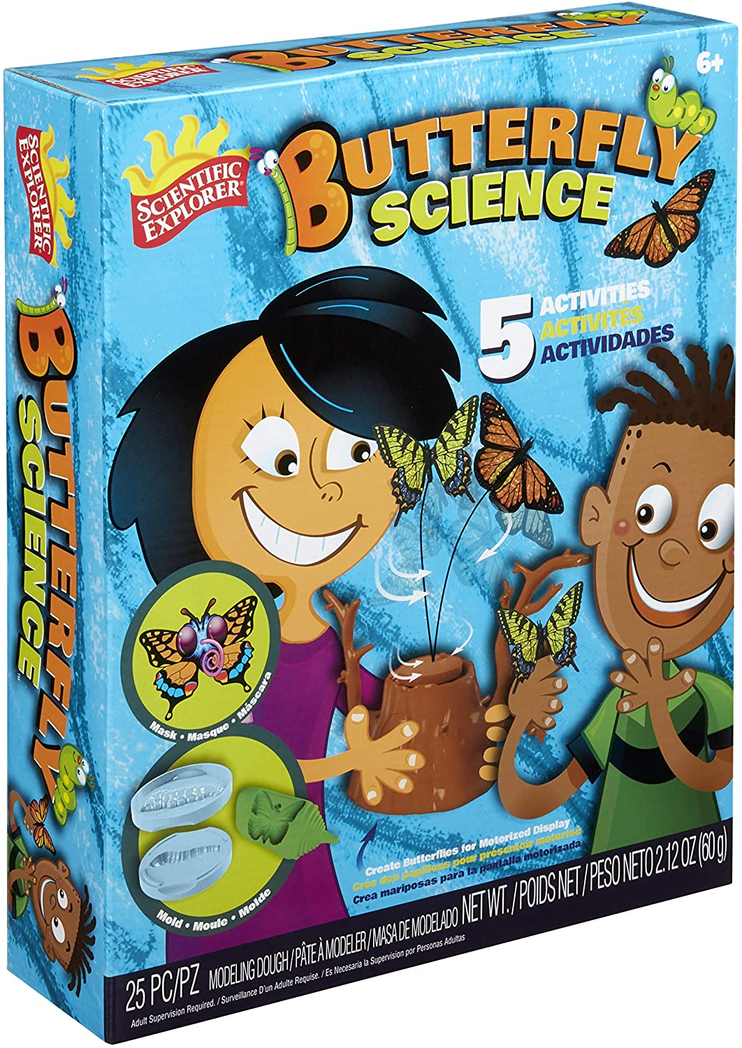 Scientific Explorer Butterfly Science Kids Science Experiment Kit