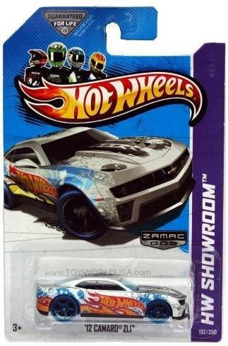 2013 Hot Wheels #192 Hw Showroom Hw Garage '12 Camaro Zl1 Zamac 009 Walmart Excl