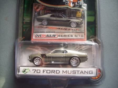 Full Throttle Foose Design Overhaulin' Series '70 Ford Mustang Grey #5/10