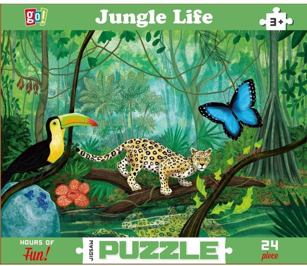 Go! Games, GC Jungle Floor Puzzle