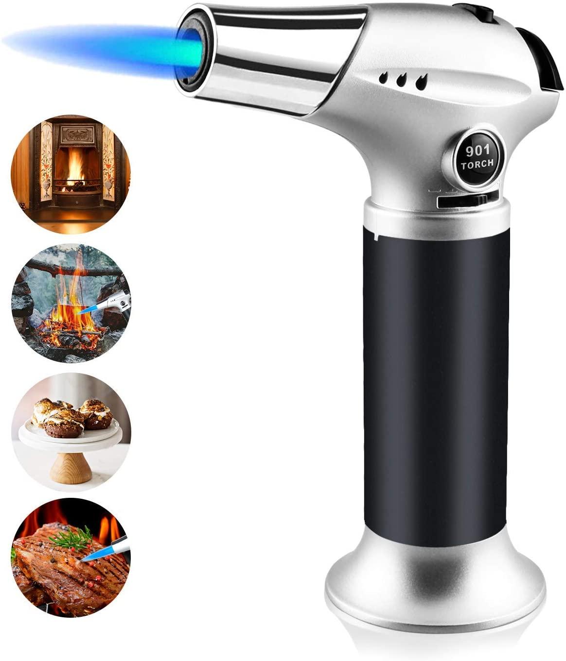 Kitchen Craft Cook's Blow Torch Butane Torch Lighter