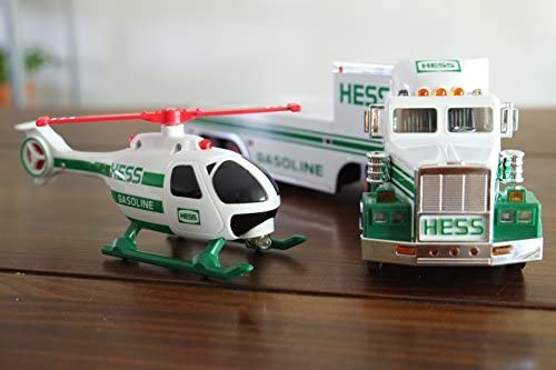Hess Toy Truck and Helicopter (1995 Release) by Hess