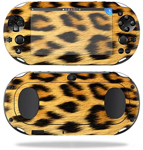 MightySkins Skin Compatible with Sony PS Vita (Wi-Fi 2nd Gen) wrap Cover Sticker Skins Cheetah